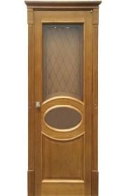 Дверь ПМЦ 26 ДОФ темный лак ДО