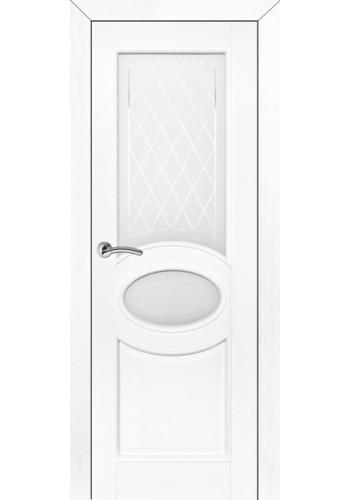 Дверь ПМЦ межкомнатная 26 ДОФ белый воск ДО