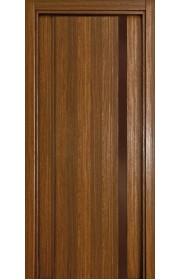 Двери Статус 321 Орех стекло Лакобель коричневое