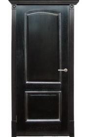 Дверь Халес Верона черный абрикос с серебром ДГ