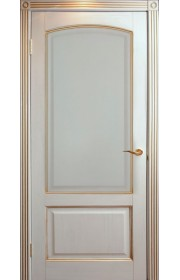 Дверь Халес Верона слоновая кость с золотом ДГ