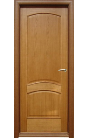 Двери Халес Капри 3 светлый дуб ДГ