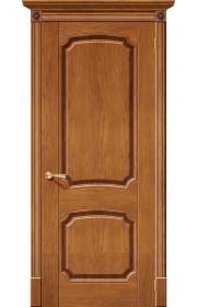 Двери Халес Мадрид Медовый дуб Глухие