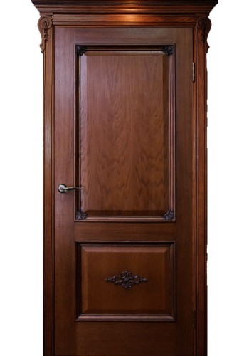 Двери ГрандМодерн Мартель Красное дерево ДГ