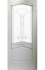 Дверь Гранд Модерн Белый Янтарь ДО