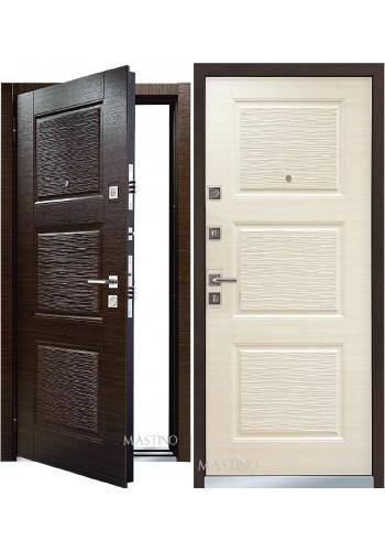 Дверь Бульдорс Mastino Line 3 Темный венге - Светлый венге