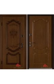 Двери Белорусии Престиж орех ПВХ