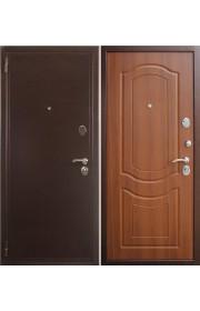 Дверь Зетта Евро 2 Б2 Медь - Тисненый орех