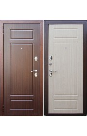 Двери входные Зетта Комфорт 3 Б1 F030 Венге - Беленый дуб