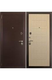 Дверь Зетта Комфорт 2 Б1 Медь - Беленый венге