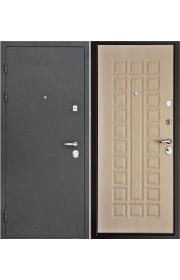 Дверь Интекрон Колизей Черный шелк - Беленый дуб