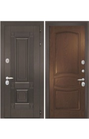 Дверь Интекрон Италия 1 Дуб бургундский