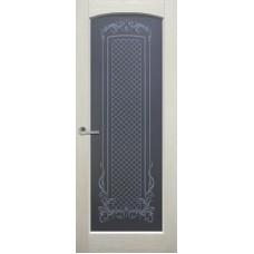 Двери Ока Витраж Rif Слоновая кость