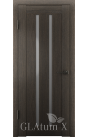 Двери ВФД Атум Х2 Серый дуб сатинат