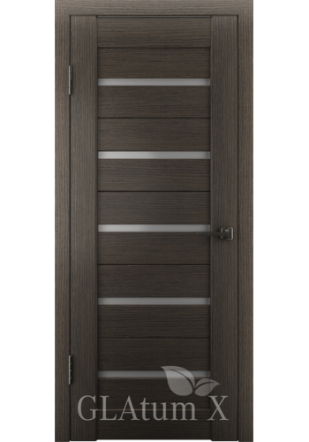 Двери ВФД Атум Х7 Серый дуб сатинат