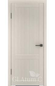 Двери ВФД Атум С1 Беленый дуб ДГ