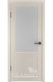 Двери ВФД Атум С2 Беленый дуб сатинат