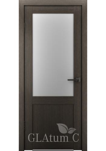 Двери ВФД Атум С2 Серый дуб сатинат