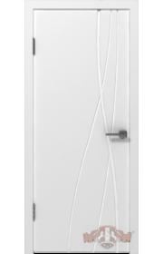 Двери ВФД Авангард Т1 24ДГ0 Белая эмаль