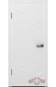 Двери ВФД Авангард К2 25ДГ0 Белая эмаль