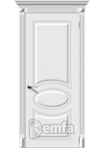 Дверь Дэмфа Джаз Белый ДГ