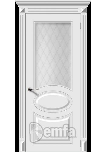 Дверь Дэмфа Джаз Белый ДО