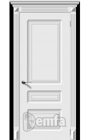 Дверь Дэмфа Трио Белый ДГ