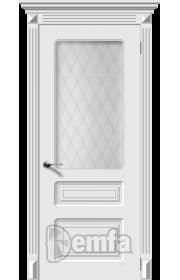 Дверь Дэмфа Трио Белый ДО