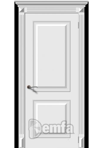 Дверь Дэмфа Багет 2 Белый ДГ