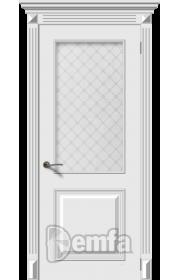 Дверь Дэмфа Багет 2 Белый ДО