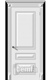 Дверь Дэмфа Багет 3 Белый ДГ