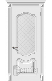 Дверь Дэмфа Багет 4 Белый ДО