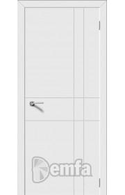 Дверь Дэмфа Геометрия Белый ДГ