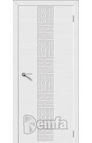 Дверь Дэмфа Арфа Белый ДГ