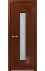 Дверь Крона Византия Макоре стекло матовое с рисунком