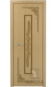 Дверь Крона Византия Орех ДГ