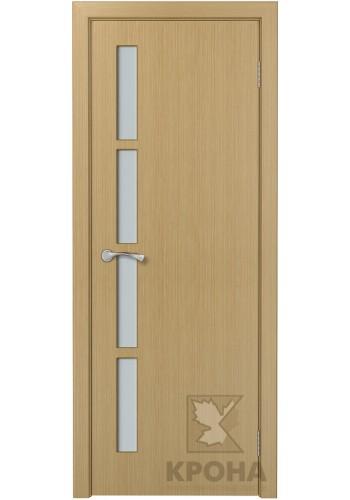 Дверь Крона Гранд Дуб стекло белое матовое