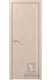 Дверь Крона Карина Беленый дуб ДГ