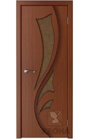 Дверь Крона Лидия Макоре стекло дельта-бронза