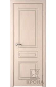 Дверь Крона Стиль Беленый дуб ДГ