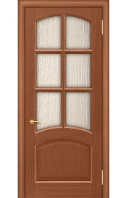 Дверь Покрова Леон К Тон №3 стекло сильвит бронза