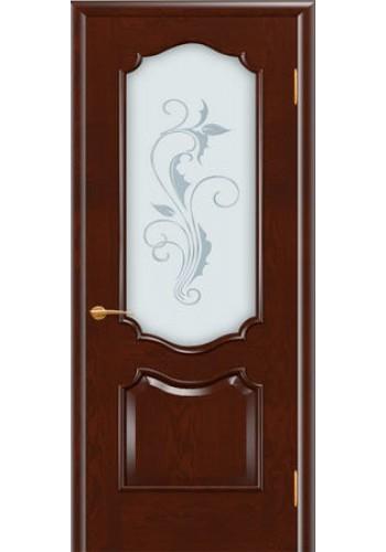 Дверь Покрова София Сапель стекло матовое с гравировкой