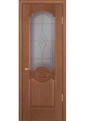 Дверь Покрова Карамель Тон №3 стекло бронза пескоструй