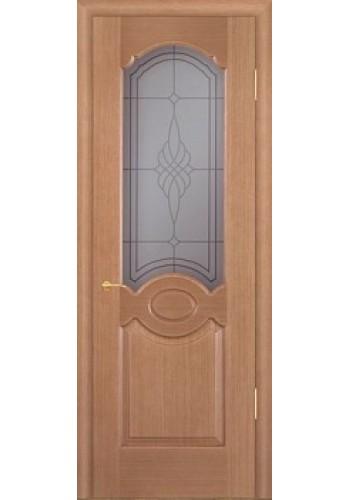 Дверь Покрова Карамель Тон №4 стекло бронза пескоструй