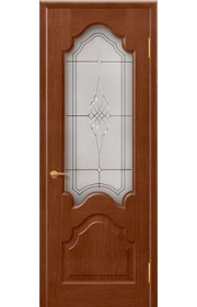 Дверь Покрова Верона Тон №3 стекло бронза пескоструй