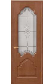Дверь Покрова Верона Тон №4 стекло бронза пескоструй