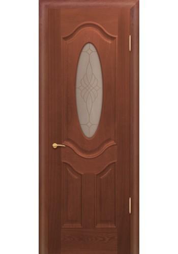 Дверь Покрова Орбита Б Дуб коньяк стекло тонированное