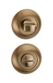 Дверная завертка Punto BK6 TL ABG-6 зеленая бронза