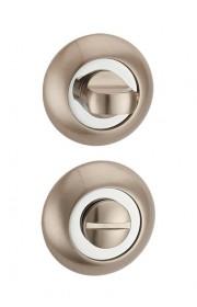 Дверная завертка Punto BK6 TL SN/CP-3 матовый никель - хром