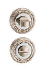 Дверная завертка Punto BK6 ML SN/CP-3 матовый никель - хром